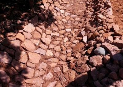 Desert-Scape-drainage-erosion-control-village-oak-creek-landscape