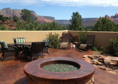 custom-fire-pit-water-feature-sedona-az